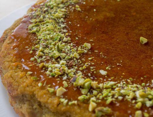 Torta al Pistacchio integrale (senza latte, burro e uova)
