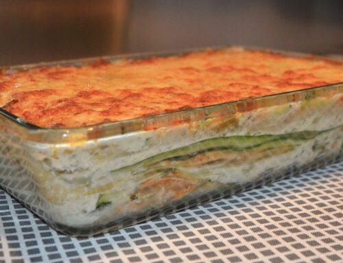 Lasagne agli Asparagi e Besciamella di riso allo Zafferano