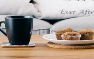 Tortini o muffin morbidi alle mandorle vegan