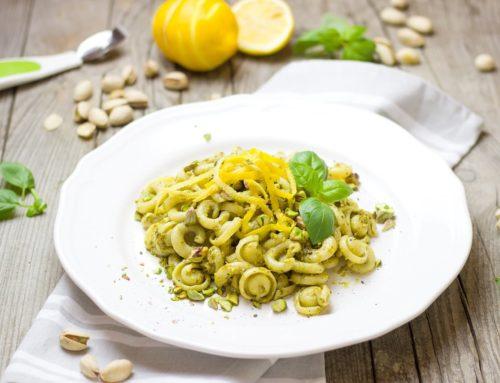 Pesto di pistacchio e agrumi