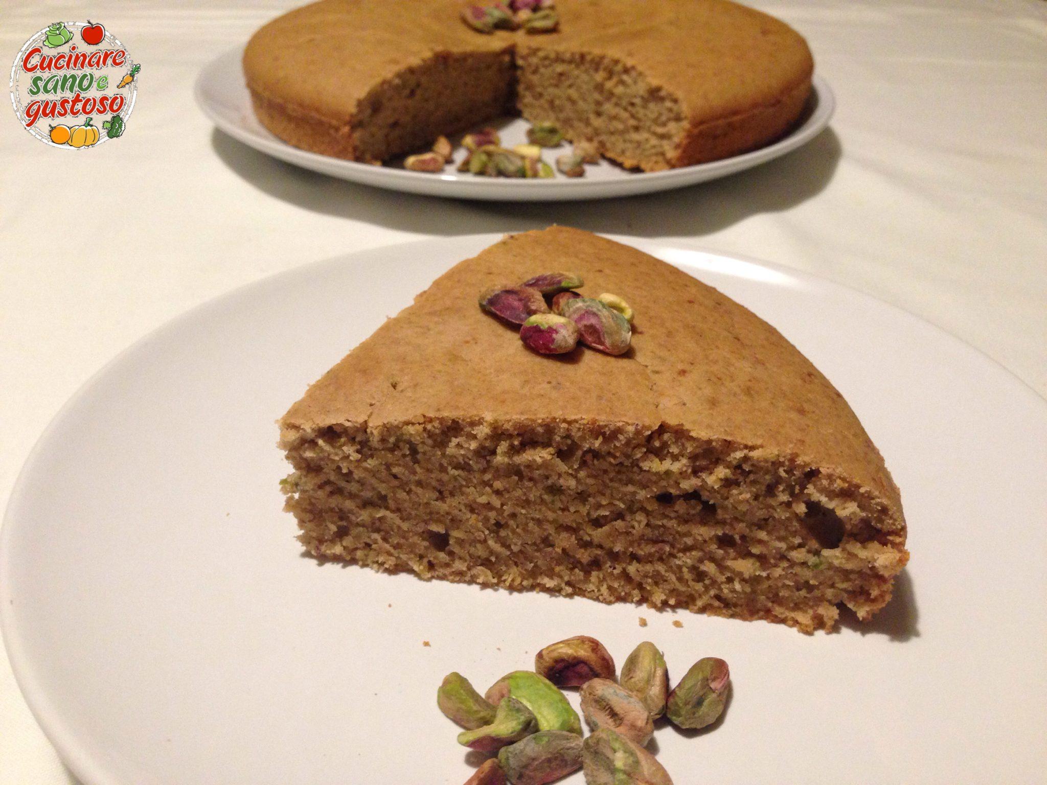 Torta multicereale al pistacchio cucinare sano e gustoso - Cucinare sano e gustoso ...