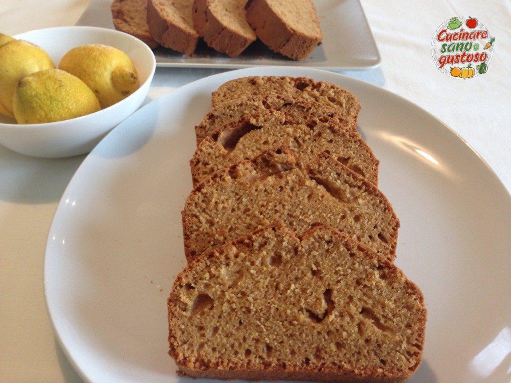 plumcake al limone leggero - cucinare sano e gustoso - Cucinare Leggero