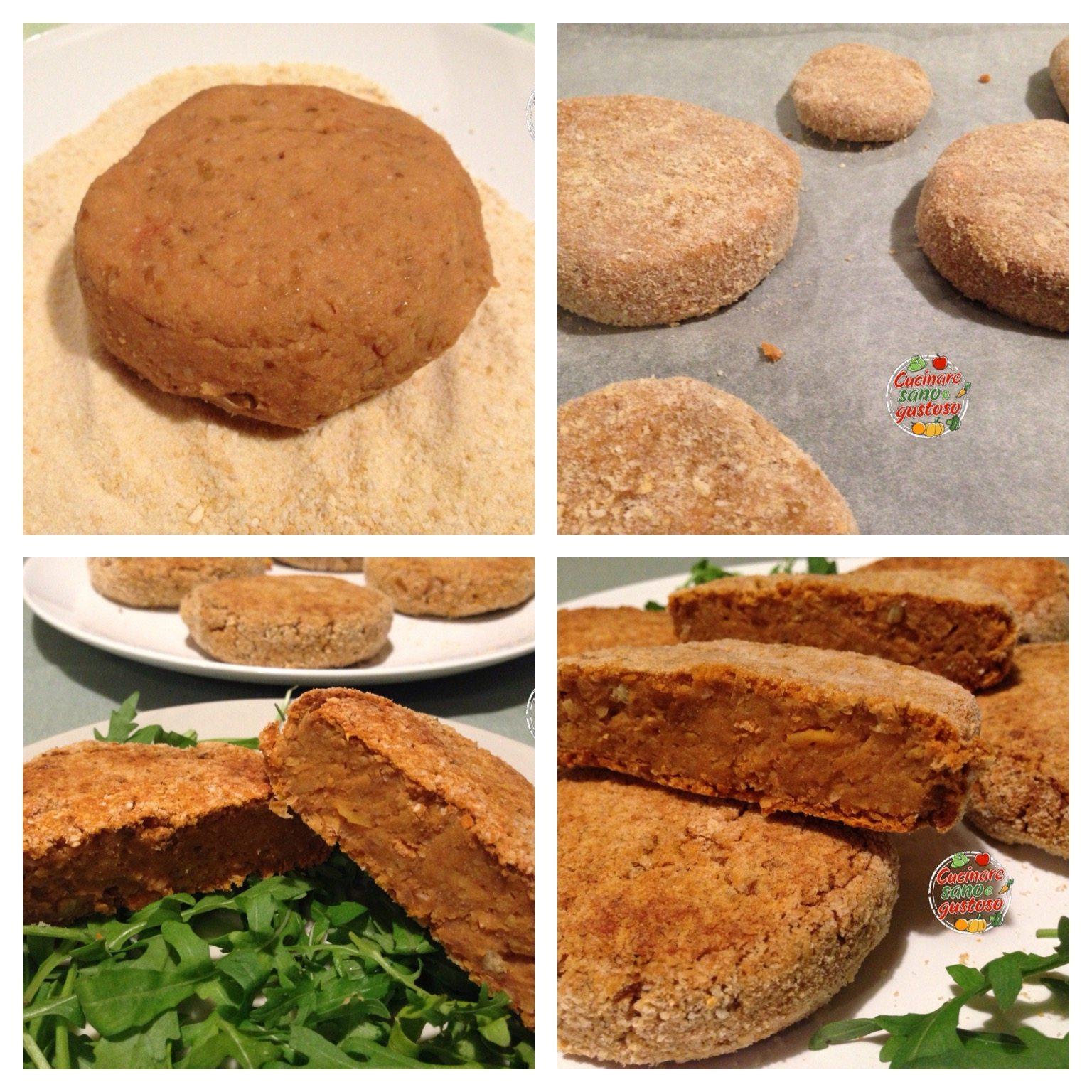 Burgher di legumi alla stroganoff cucinare sano e gustoso - Cucinare sano e gustoso ...