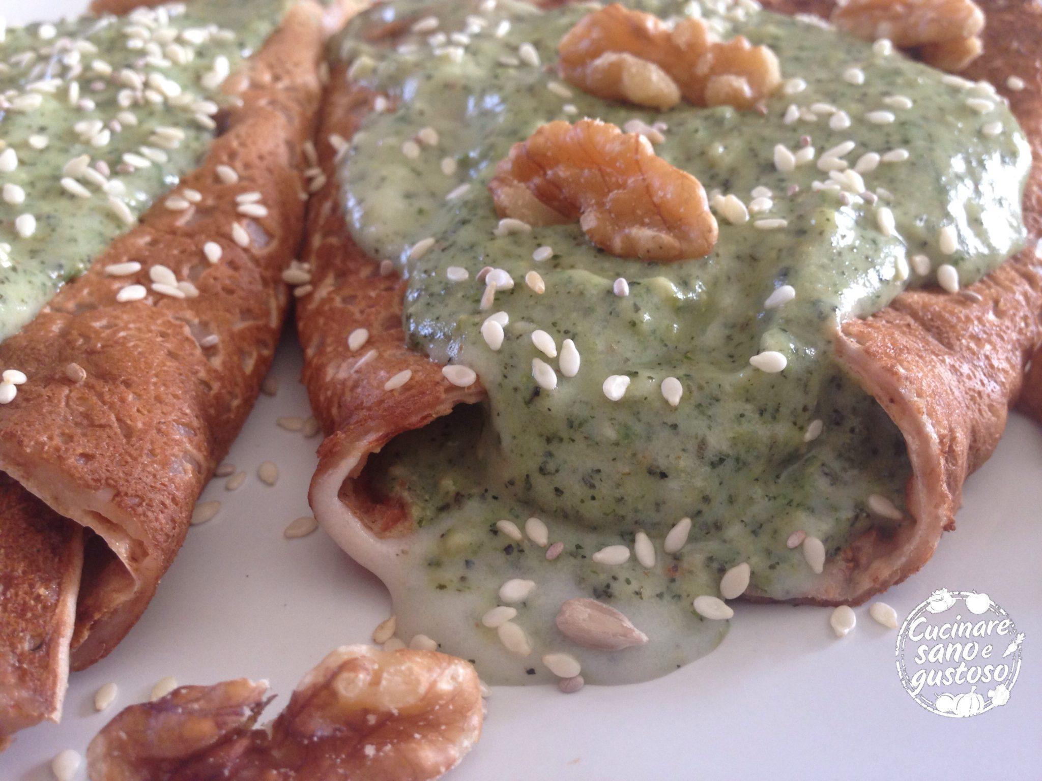 Crepes di farina di castagne senza glutine cucinare sano - Cucinare sano e gustoso ...