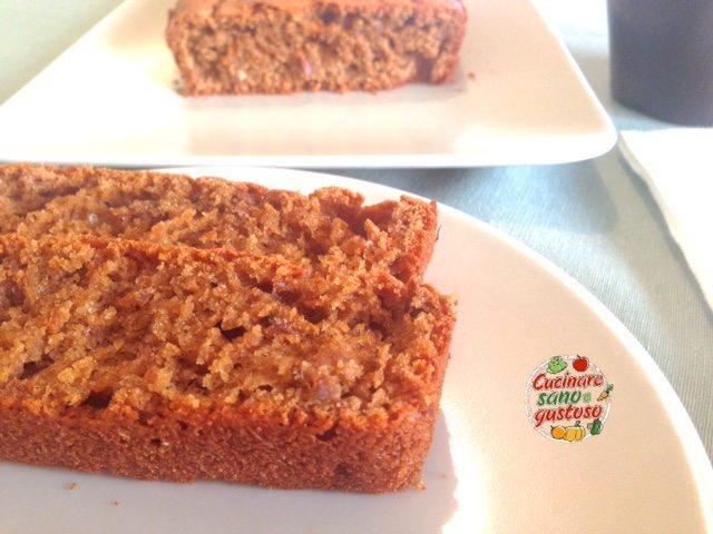 Plumcake integrale ai cereali soffiati e caff cucinare - Cucinare sano e gustoso ...