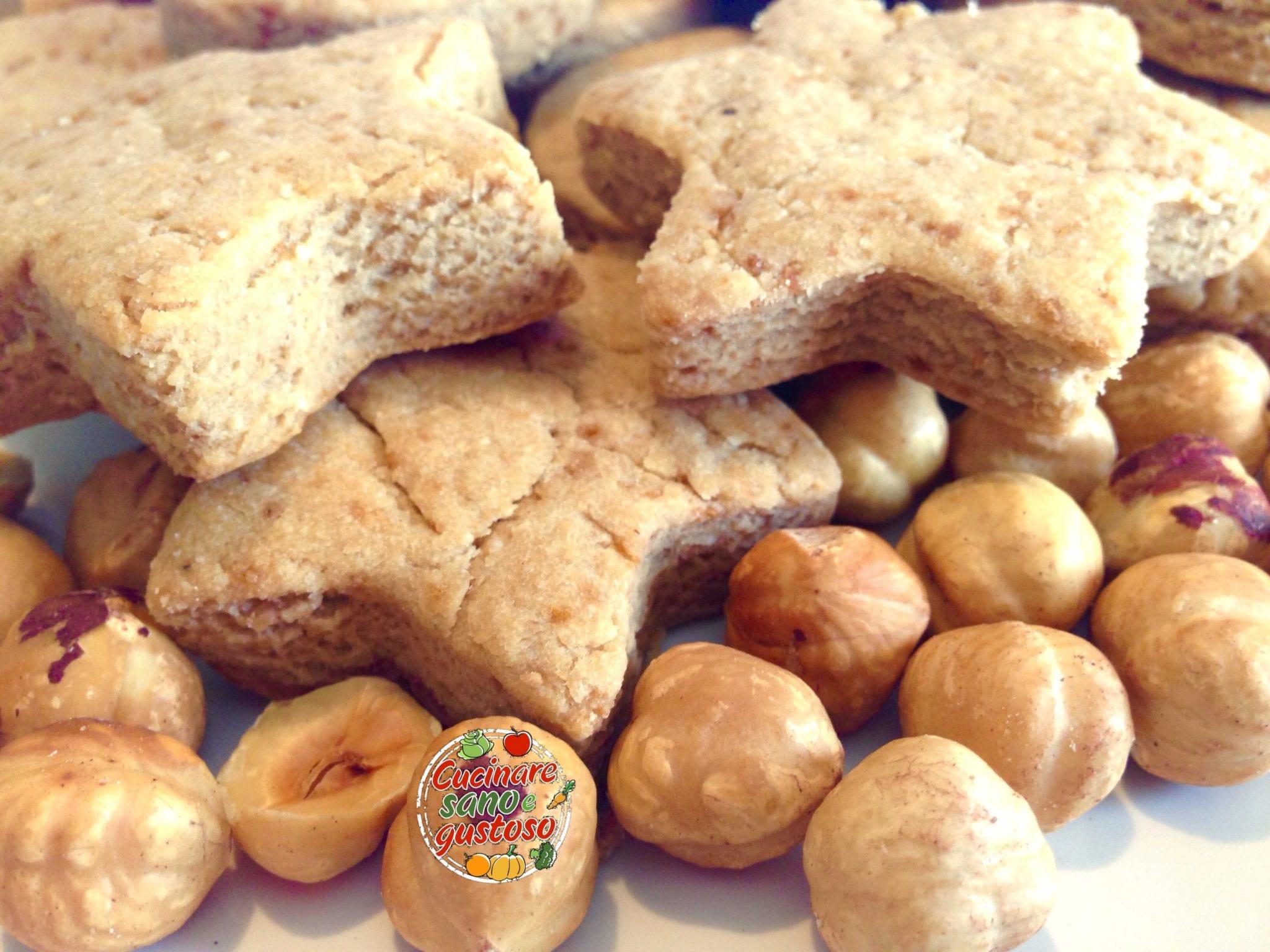 Biscotti alle nocciole no burro no latte no uova for Cucinare 2 uova