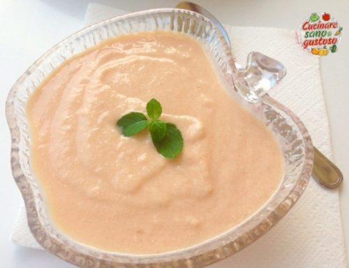 Mousse al Melone veloce . Fresca e 100% vegetale.