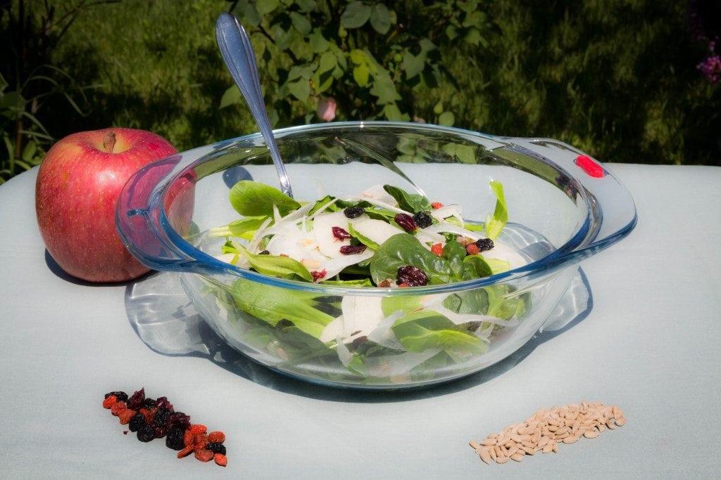 Insalate nutrienti e contenitori sicuri Pyrex