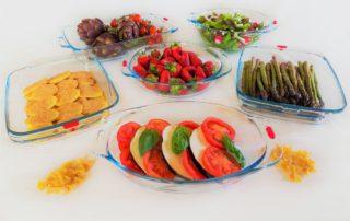 Cucinare sano con il Pyrex-collezione Auchan Pyrex Reflectio