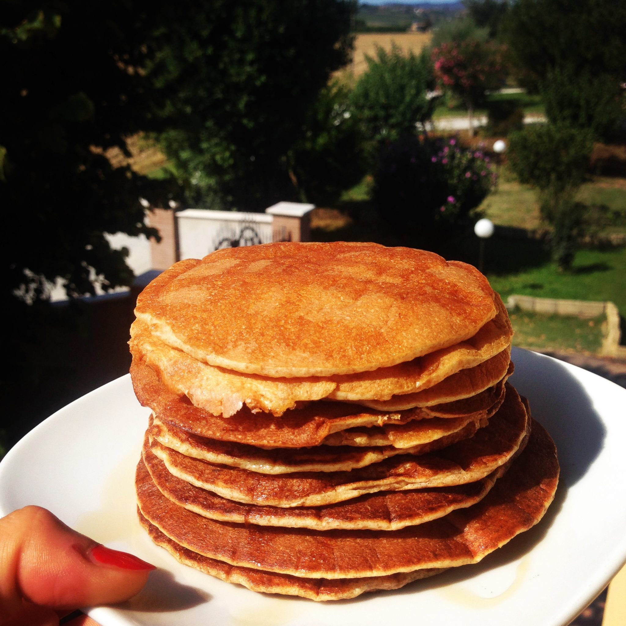 Ricetta Pancake Uova Farina E Latte.Pancake Di Avena Senza Uova Cucinare Sano E Gustoso
