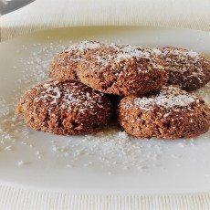 Biscotti leggeri al cocco e cacao con avena