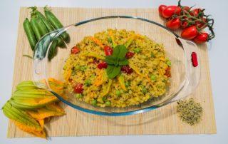 Orzotto Estivo. Ricetta sana, leggera e gustosa 100% vegetale