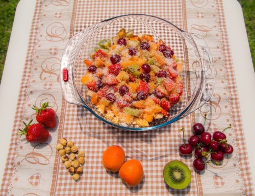 Macedonia Arcobaleno, sana e leggera senza zuccheri aggiunti