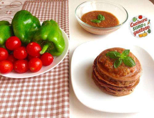 Pancake o crespelle di legumi