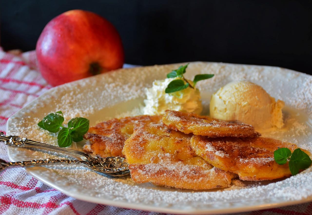 Frittelle Di Mele Al Forno Ricetta Light Cucinare Sano E Gustoso