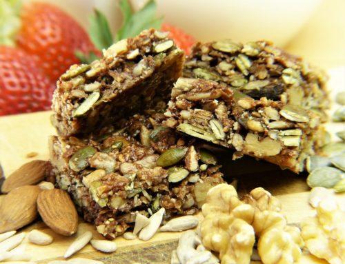 Barrette proteiche con cereali e frutta secca
