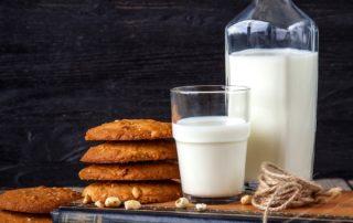 Cookies alle nocciole e mirtilli