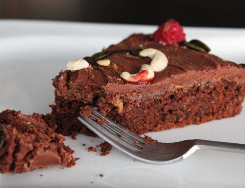 Plumcake al cioccolato fondente e avocado