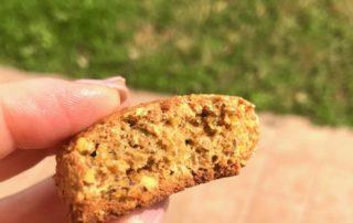 Biscotto rustico al pistacchio e limone