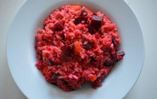 Salsa di carote e rapa rossa