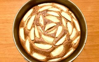 Torta rustica di mele integrale