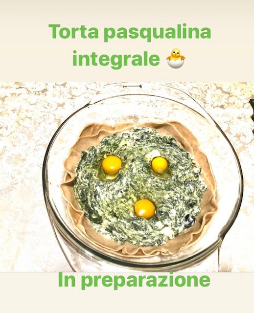 Torta Pasqualina integrale_in preparazione