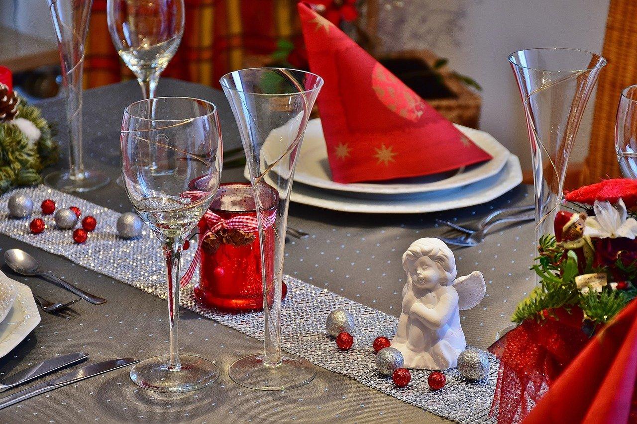 Pranzo e cena nelle festività natalizie